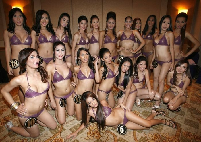 Miss Ladyboy Tranny Contest in Philippines (11 pics)