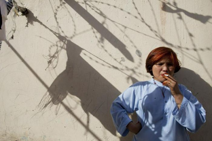 Life Inside a Women's Prison in Afghanistan (15 pics)
