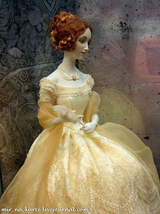 Beautiful Dolls from the Moscow Doll Fair (100 pics)