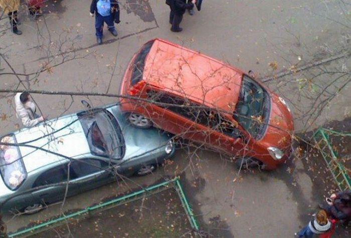 Great Parking Skills (4 pics)