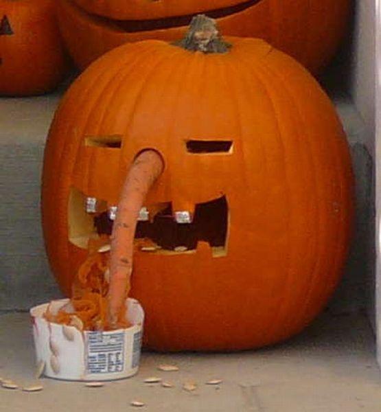 puking pumpkins