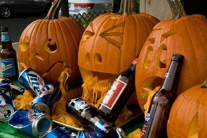 Image result for puking pumpkin