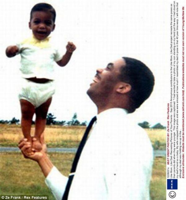 Like Mom, Like Dad (24 pics)