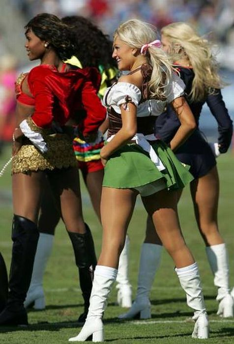 NFL Cheerleaders Are Ready for Halloween (92 pics)