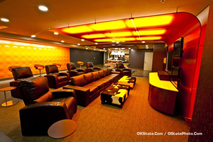 Oklahoma State's Brand New Basketball Locker Room (15 pics)