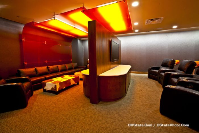 Oklahoma State's Brand New Basketball Locker Room (15 pics)