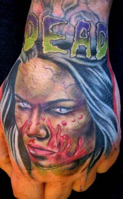 Zombie Tattoos (20 pics)
