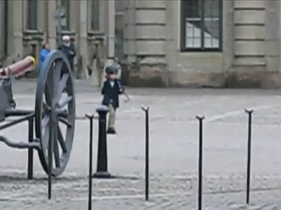 Kid vs Swedish Guard