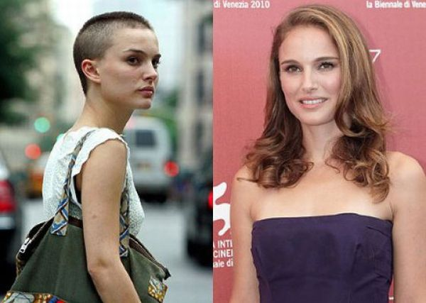Celebrities with Short and Long Hair (18 pics)