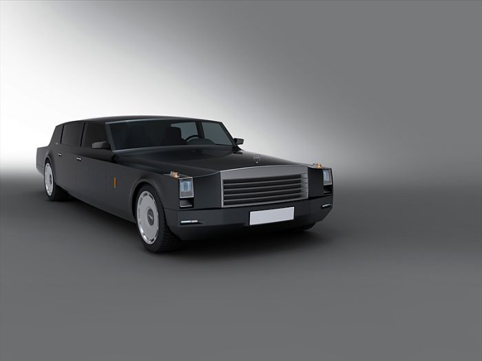 Concept Limousine for the Russian President (23 pics)