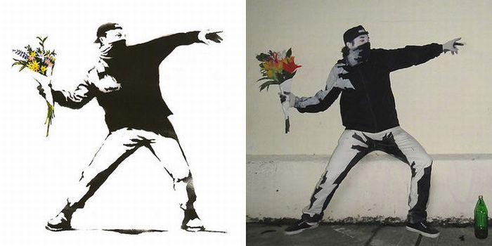 "Awesome ""Flower Thrower"" Costume (10 pics)"