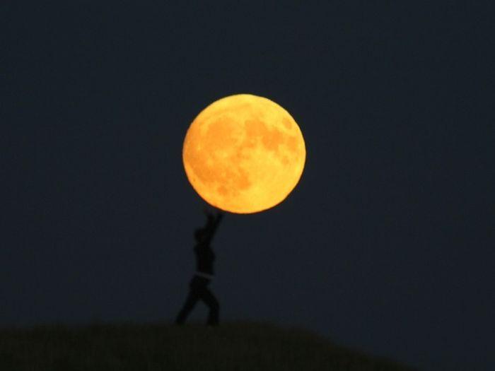 Charming Moon (16 pics)