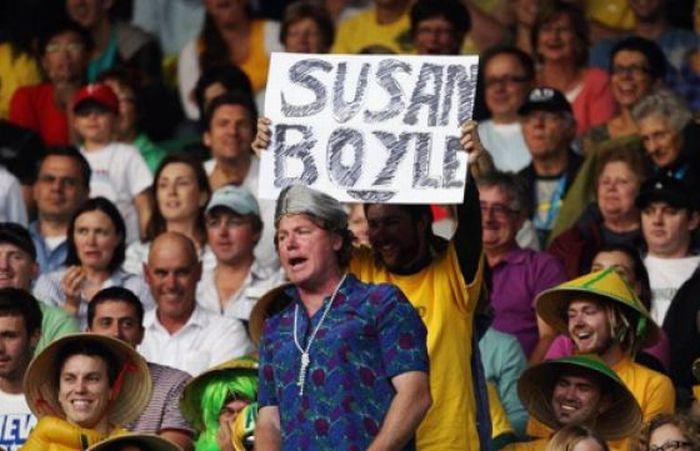 Hilarious Sport Fans (50 pics)