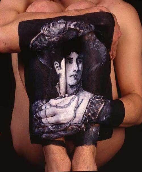 Beautiful Body Paintings (8 pics)