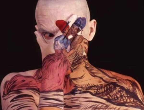 Beautiful Body Paintings (8 pics)
