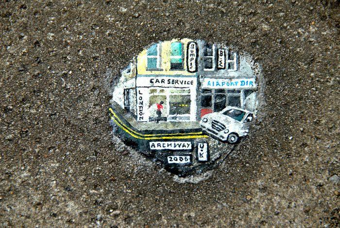 Chewing Gum Art (19 pics)