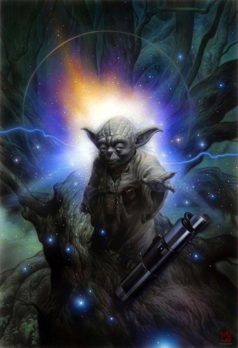 Beautiful Star Wars Paintings (15 pics)