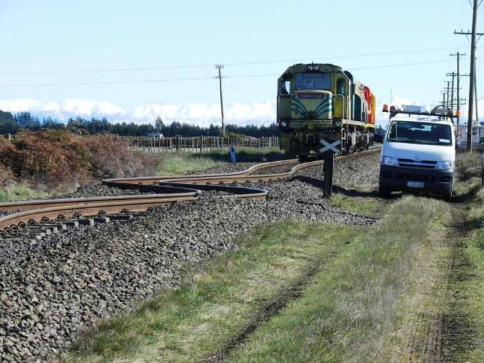 Distorted Railway Line (3 pics)