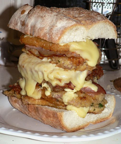 Heart Stopping Sandwiches (24 pics)