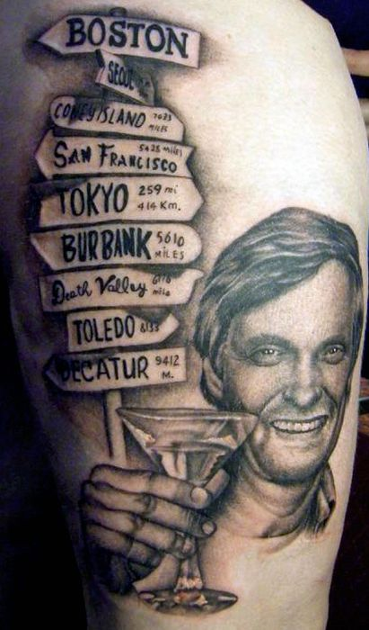 Awesome Tattoos of '80s TV Stars (21 pics)