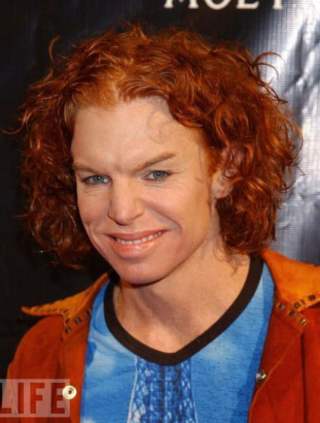 How Carrot Top Has Changed (16 pics)