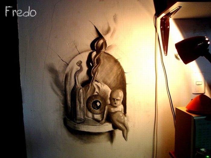 Unbelievable 3D Drawings (16 pics)