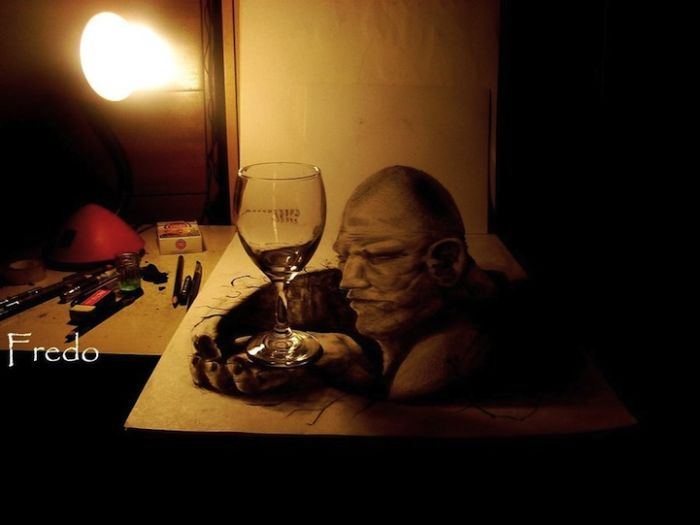 Unbelievable 3d drawings 16 pics
