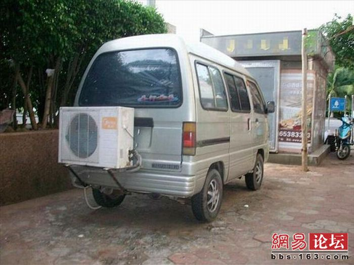 Car's Air Conditioner (7 pics)