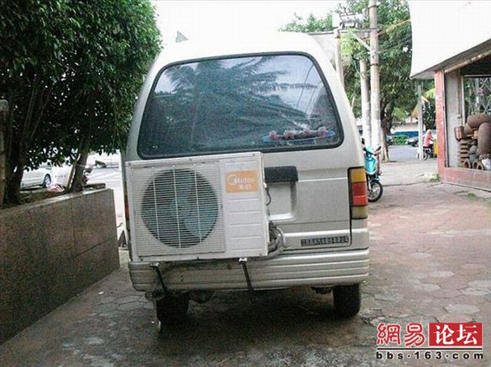 Car's Air Conditioner (7 pics)