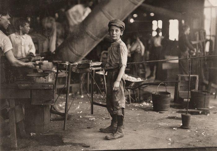 Child Labor in America 1908-1912 (69 pics)