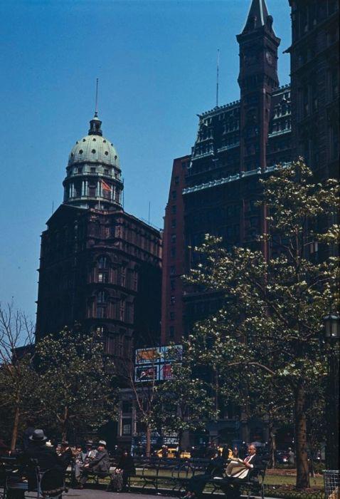 Color Vintage Photos of New York City (24 pics)