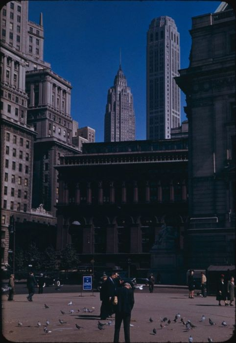 Color Vintage Photos of New York City (24 pics)