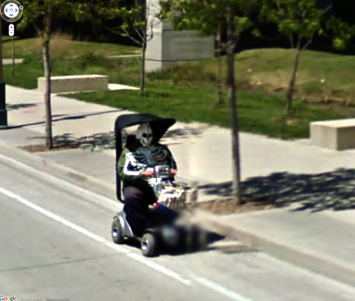Interesting Google Street View Finds (120 pics)
