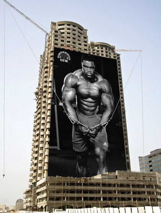 The Best of Ads on Buildings (21 pics)