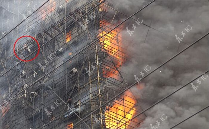 Fire Inferno in Shanghai (30 pics)
