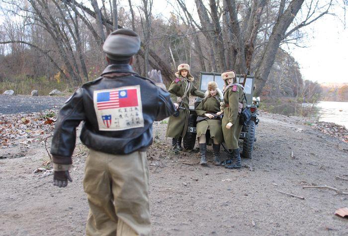 Realistic Miniature War Scenes (50 pics)
