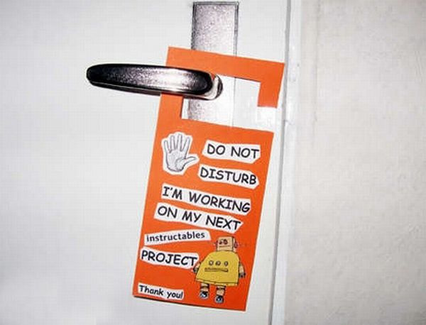 Unusual Hotel Do Not Disturb Signs (12 pics)