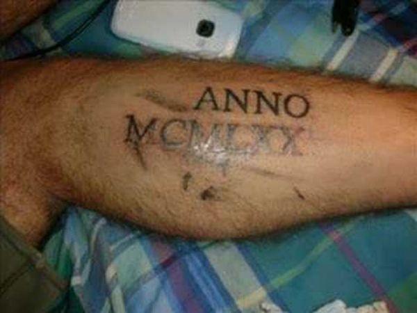 Awful Homemade Tattoos (25 pics)