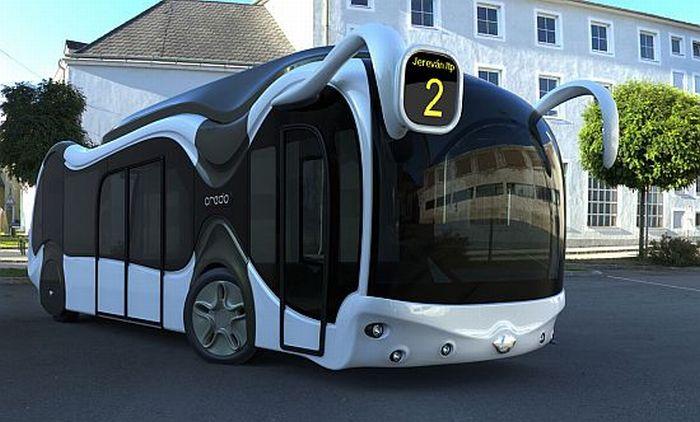 Credo E-Bone Concept Bus (12 pics)