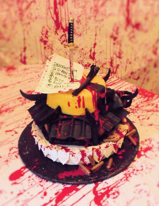 Kill Bill Cake (8 pics)