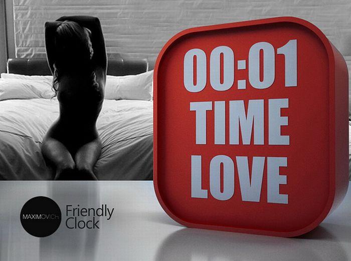 Friendly Clock (6 pics)
