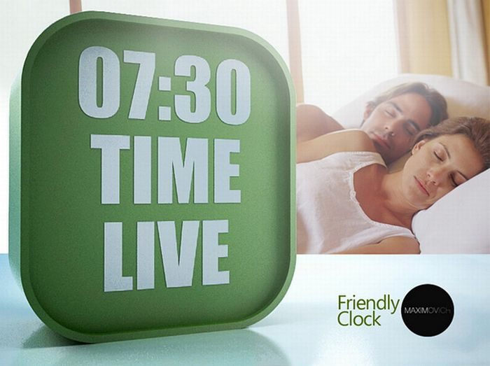 Friendly Clock (6 pics)