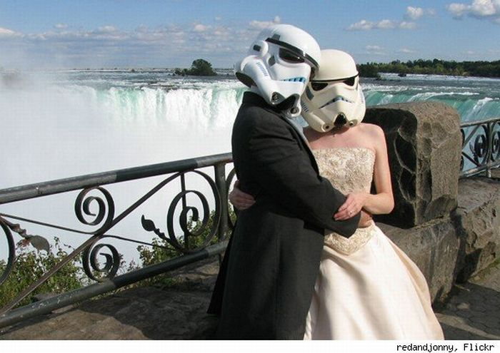 Couple Document Married Life As Stormtroopers (11 pics)
