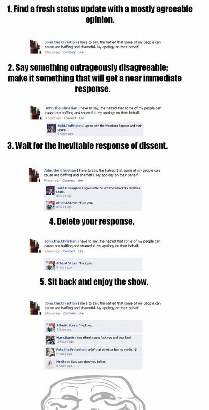 Facebook Trolling Game (1 pic)