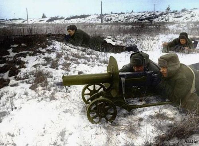 World War II in Color (77 pics)