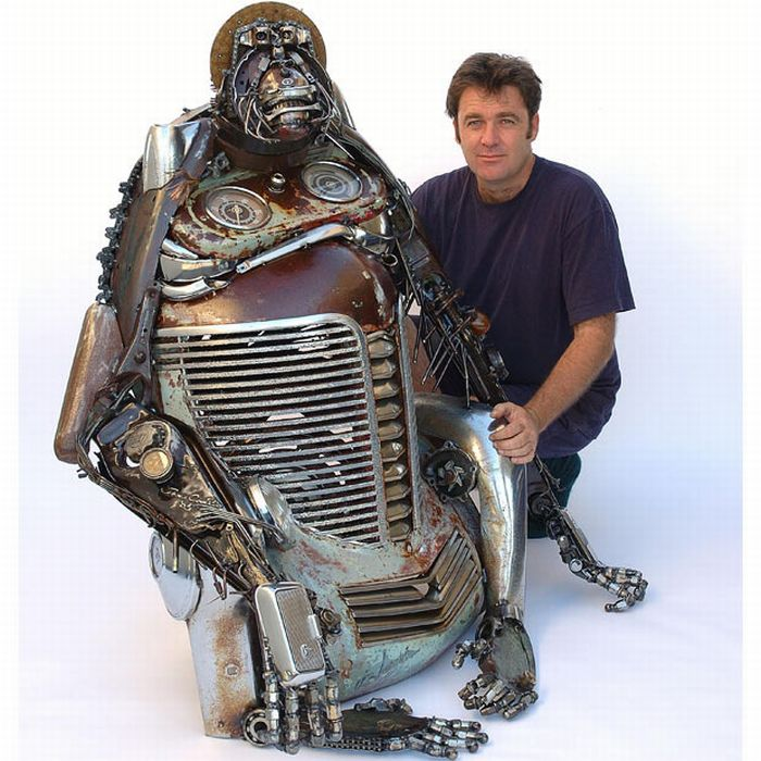 Car Part Art by James Corbett (51 pics)