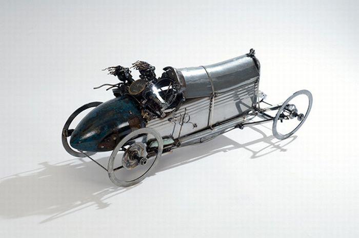 Car Part Art by James Corbett (51 pics)