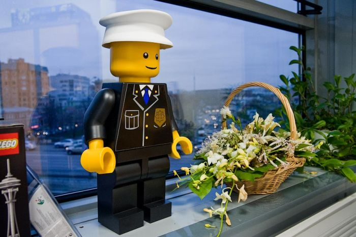Lego Office in Moscow (47 pics)