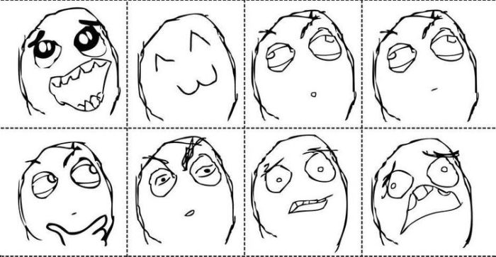 The Complete Collection of Rage Faces (10 pics)