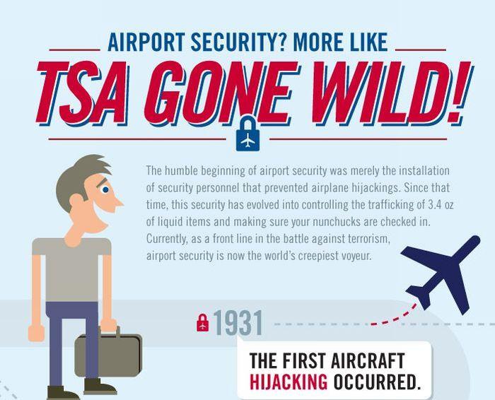 TSA Gone Wild (infographic)